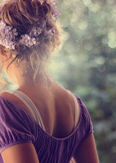 Bokeh photography--- I wanna do a bokeh photo shoot! :D Flower hairrrrr