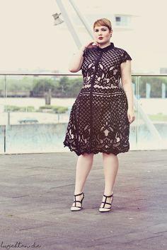 • Black & White Lace • http://luziehtan.de/2016/06/black-white-lace/