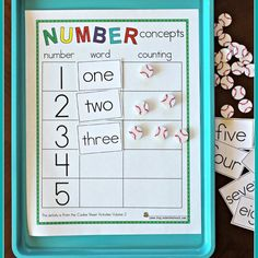 Number concepts
