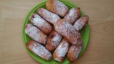 Smažené pirôžky • recept • bonvivani.sk French Toast, Eggs, Lunch, Breakfast, Sweet, Food, Hampers, Morning Coffee, Candy