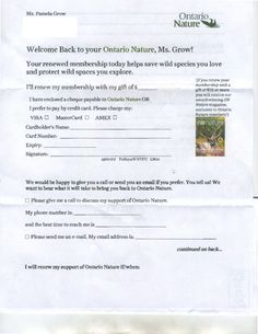 Great renewal idea for lapsed donors | Work ideas | Pinterest | A ...