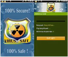 Antivirus Gold v1.0.6 Apk and It's Free Version has high Ranking Antivirus Security Complete Protection for mobile & tablet in TOP FREE TOOLS.