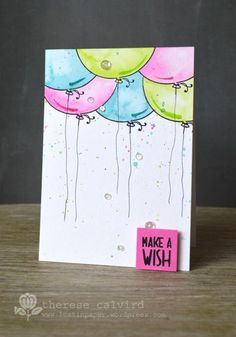 Video : Finding Inspiration By Request – Watercoloured Balloons!