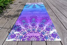 Amazon.com : UNION YOGA MAT COMBO| 2 in 1 |Non Slip Fabric Enhances Grip with Sweat | Eco Friendly | Machine Washable. Strap Included | Ideal for Hot Yoga, Pilates, Bikram. Tree Planted! (FREEBIRD) : Sports & Outdoors