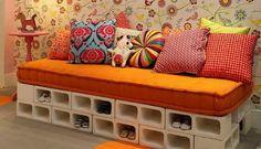 Print at home/ decoração/ estampas/ interior design/ sofá criativo
