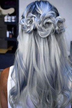 Nouvelle Tendance Coiffures Pour Femme 2017 / 2018 21 Pretty Rose Hairstyles for Long Hair Idées du quotidien aux occasions spéciales