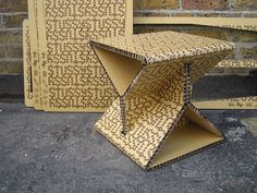 Hextable is weighs only 1kg and is made from recycled cardboard, making it fully recyclable.