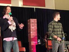 "RT @drgarima7 ""@CarryOn_SPN: Jared and Jensen! #ChiCon """