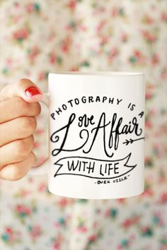 Photography Love Affair Mug