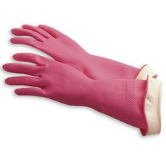 Made from 100% natural latex, our hot pink Water Stop® Gloves are durable, non-toxic, and, unlike plastic gloves, allow your hands to breathe.