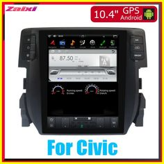 Cheap ZaiXi 10.4 Tesla Type Android For Honda Civic 20162018 Car Android DVD Player Navigation GPS Radio Multimedia system 2020 Cheap Car Audio, Honda Civic, Multimedia, Android, Type