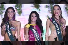 Here are the Miss Earth 2016 Group 1 Swimwear Contest Winners