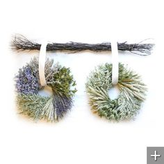 Tranquility and Serenity Wreaths on Branch Bar Lavender Wreath, Flower Market, Front Door Decor, Autumn Inspiration, Summer Wreath, Serenity, Christmas Wreaths, Projects To Try, Hair Accessories