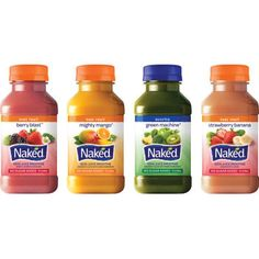 Naked® Juice Variety Pack, 10 oz., 12/CS - WB Mason
