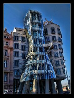 The Dancing House: some seriously far-out architecture in Prague