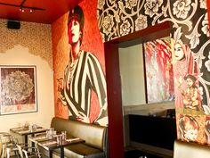 Shepard Fairey (Obey Giant) at Wynwood Kitchen & Bar (Interior Walls) by ReLowed.com, via Flickr