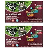 $36.01  - Special Kitty Classic Pate Variety Pack Wet Cat Food... >>> You can find out more details at the link of the image. (This is an affiliate link) #WetCatFood