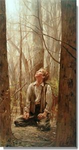"""""""The Desires of My Heart"""" by Walter Rane  I love that this is Elder Rane when he was a boy!"""