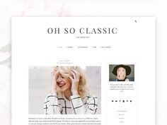 Classic- Responsive Wordpress Theme by Bloom Blog Shop on @creativemarket