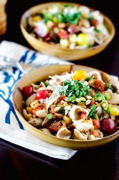 Loaded Quinoa Veggie Pasta - Cooking Quinoa