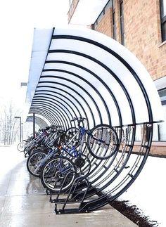 bike shelter movement modes urban bike bike parking. Black Bedroom Furniture Sets. Home Design Ideas