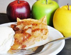 Apple Caramel Pie - made in the crock pot.  How would you like to come home to a house smelling like apple pie on a cool night like tonight?