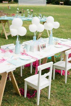 Comment décorer la table des enfants à son mariage en 5 étapes