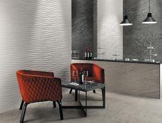 Lavabo Design, Suspension Design, Ceramic Wall Tiles, 3d Wall, Three Dimensional, Wall Design, Corner Desk, Dining Table, Concorde