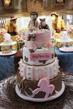"""Photo 1 of 43: Cowgirl Chic / Birthday """"Howdy Folks! It's Rafaella's Cowgirl Chic Birthday Party!"""" 