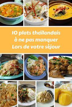 Il est difficile de savoir quoi manger en Thaïlande quand on ne connaît pas la cuisine thaïlandaise, voila 10 délicieux plats à ne pas manquer lors de votre séjour . #Thaïlande #cuisine #voyage #Tourisme