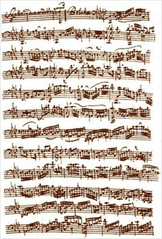 J.S. Bach (1685-1750) - Prelude from the Cello Suite No. 5 in C minor - BWV 1011 #bach #manuscript