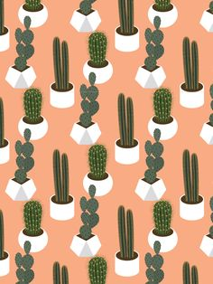 This hand-drawn cactus pattern card is perfect for succulent lovers! Details Size: A2 (4.25 x 5.5 inches) Paper: 110lb Strathmore Wove Cover paper Envelopes: Fluorescent White Crane's Lettra paper Pri