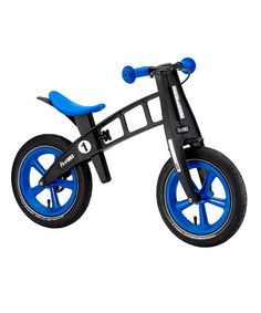 Take a look at this Blue Special Edition Balance Bike by FirstBIKE USA on #zulily today!