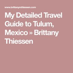 Tulum hotels and sightseeings map Maps Pinterest Tulum hotels