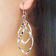 925 gold nice earrings New not open earrings Jewelry Earrings