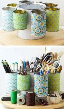 handig voor op tafel te zetten met materialen in