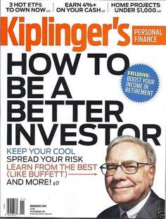 Warren Buffet in Kiplinger's magazine