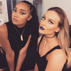 Leigh-Anne Pinnock and Perrie Edwards. Little Mix Girls, Little Mix Style, My Girl, Cool Girl, Mixed Girls, Jesy Nelson, Gal Pal, Perrie Edwards, Girl Bands