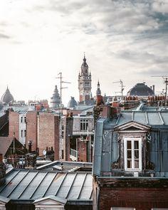 Gravity ✨ #lille #lillemaville #all2epic #urbanromantix #uas10k #hello_rooftops #createexplore #chasing_rooftops #citykillerz #super_france France, Album Photo, Big Ben, Paris Skyline, Longer, Rooftops, Explore, Mansions, Photos