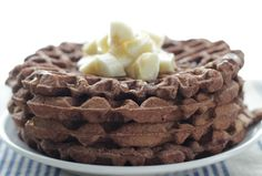 Chocolate Banana Waffles: Easy and Allergy-Friendly! | Healthy Ideas for Kids