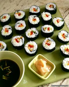 veg sushi, since i don't eat fish, also good for preggos!