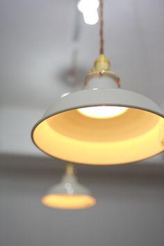 SCREENART - Enamel pandant lighting www.byscreenart.com/