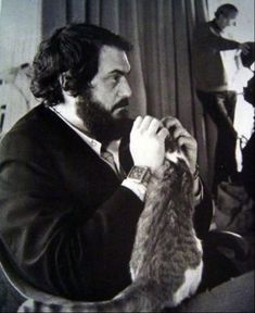 Stanley Kubrick is listed (or ranked) 25 on the list Cool Old Photos of Celebrities with Their Cats