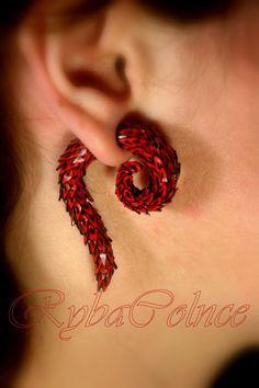 Fake des jauges de tentacule oreille queue du par RybaColnce