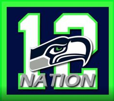 """The """"12th Man"""" made it to the 2014 Super Bowl in full force."""