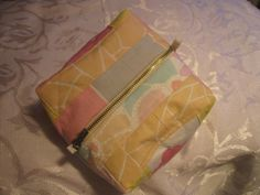 Pretty, Quilted Make Up Bag £12.00