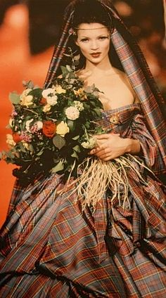 Kate Moss for Vivienne Westwood in early 1990s?