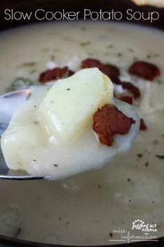 ... on Pinterest | Slow cooker potato soup, Meat lasagna and Lasagna soup