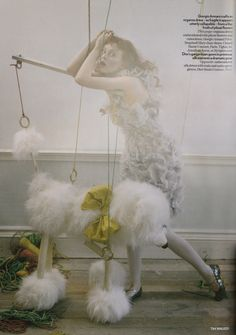 ☆ Karen Elson | Photography by Tim Walker | For Vogue Magazine UK | April 2008 ☆ #Karen_Elson #Tim_Walker #Vogue #2008