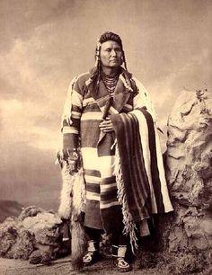"""Amérindien - Chef Joseph Nez Perce """"si l'homme blanc veut vivre en paix avec l'indien , il peut vivre en paix"""""""
